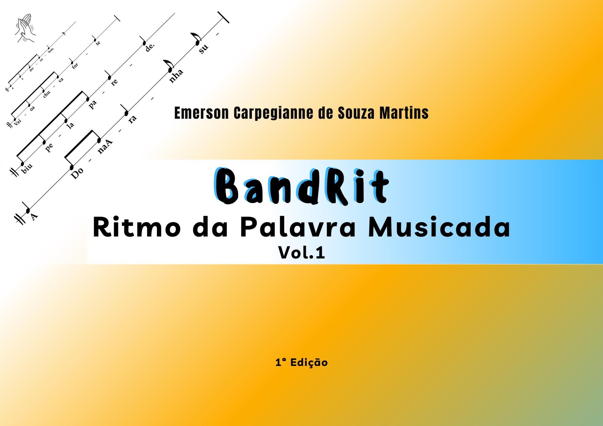 BandRit- ritmo da palavra musicada livro ebook