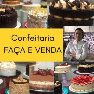 Confeitaria FAÇA E VENDA Curso Lícia Esteves