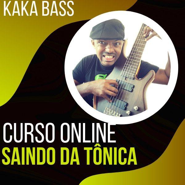 Curso Saia da Tonica no Contrabaixo com Kaka Bass kakabass